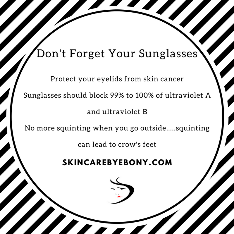 Don't Forget Your Sunglasses